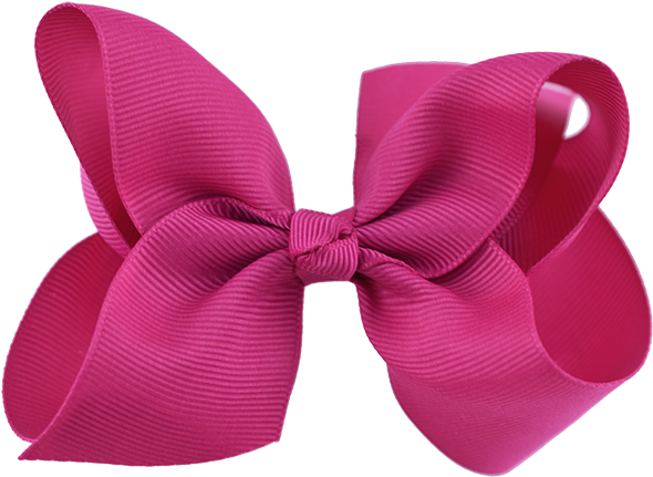 HD Grosgrain Ribbon Hair Bow Large.