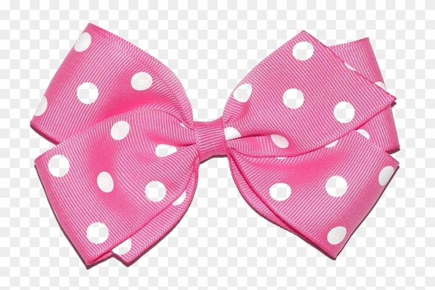Pink Hair Ribbon Png Clipart (#380199).