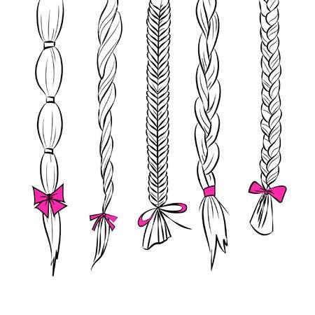 Hair braiding clipart 4 » Clipart Station.