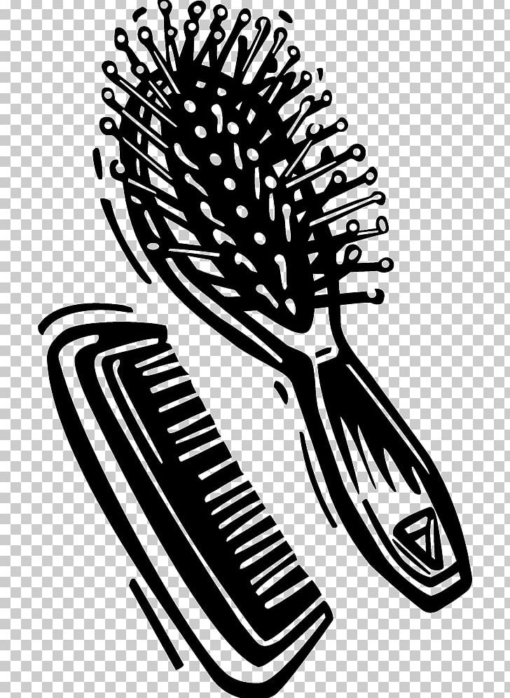 Comb Hairbrush Graphics PNG, Clipart, Art, Barber, Black And White.
