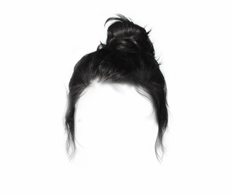 black #bun #hair #dressup #costume.