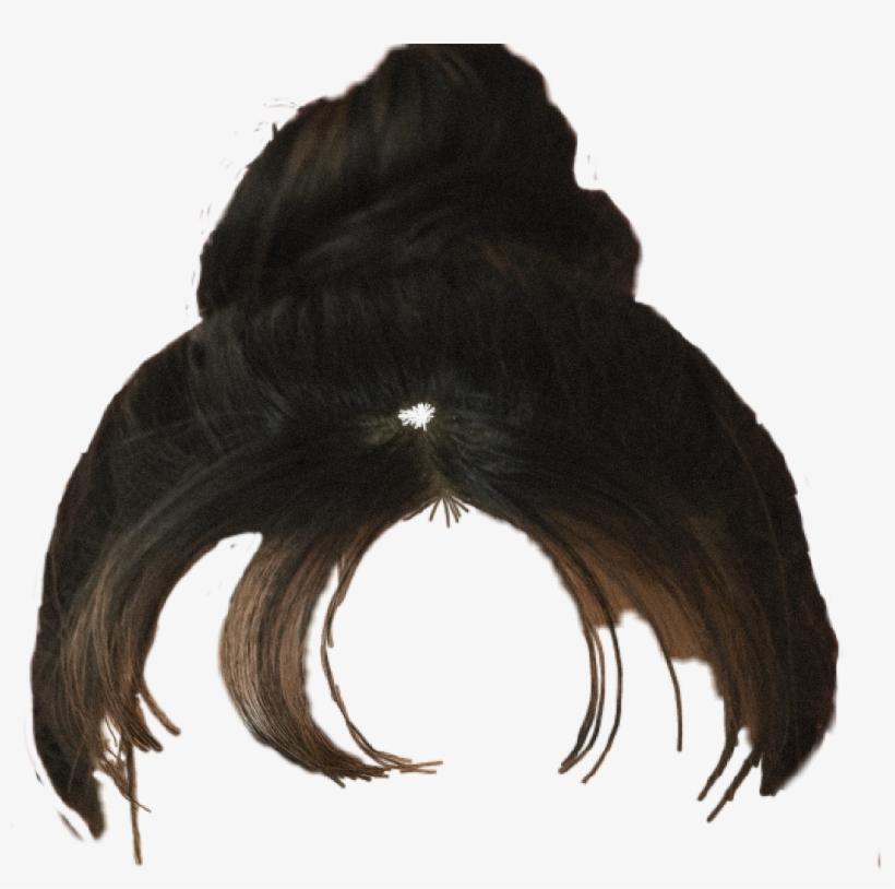 Hair Hairstyle Updo Bun Messy Bun Head Style.