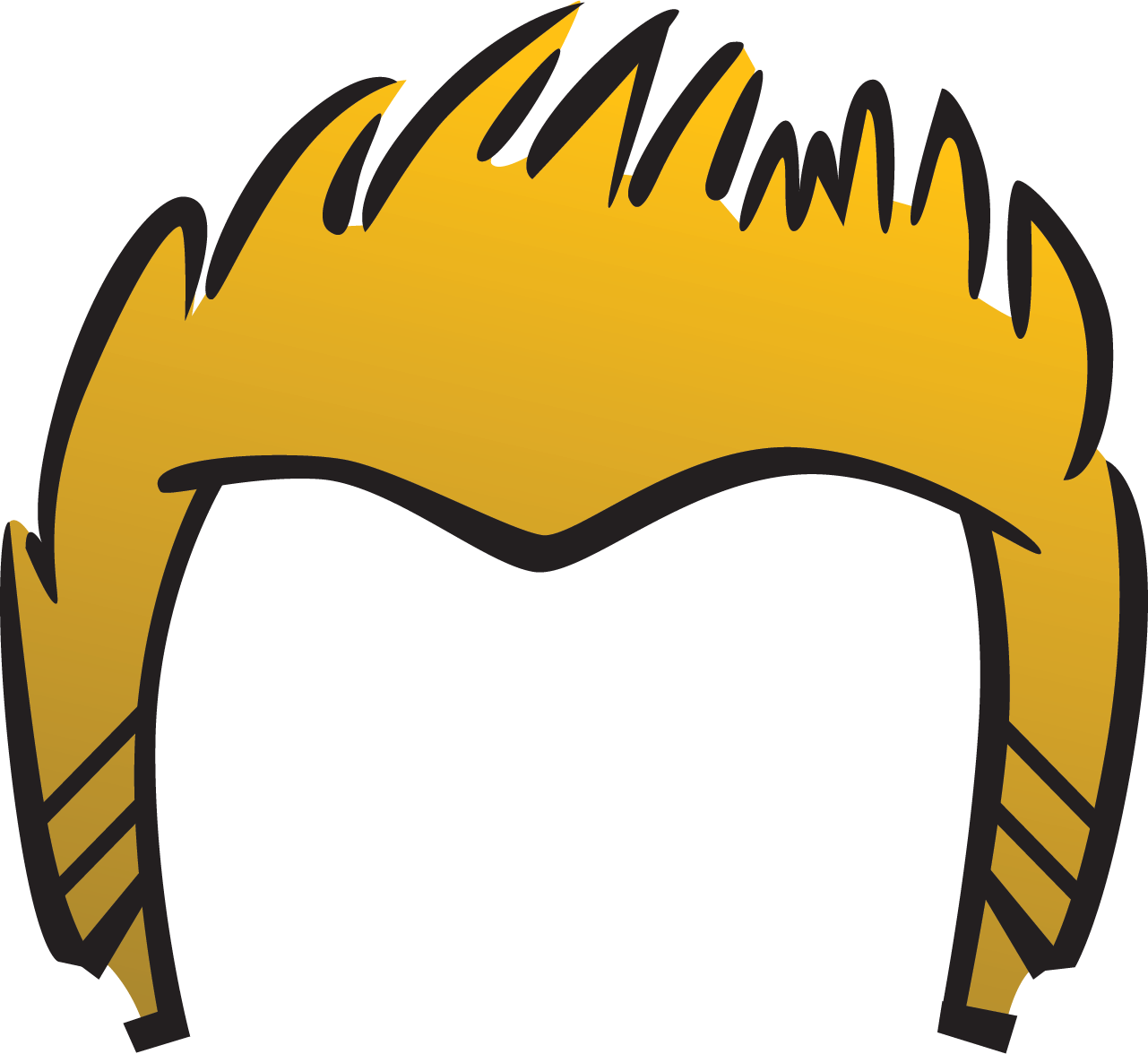 Hair Clip Art Free Download.