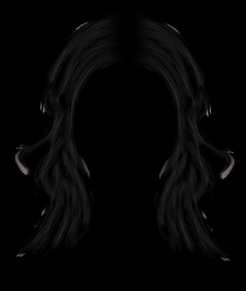 Free Black Hair Transparent Background, Download Free Clip.