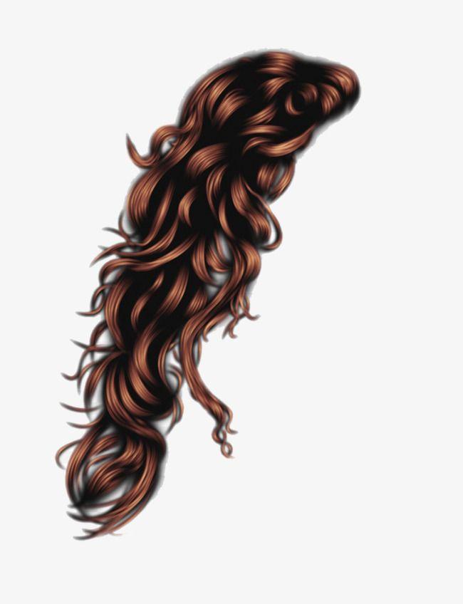Long Wig, Long Hair Pattern, Pear Hair Style, Long Curly.
