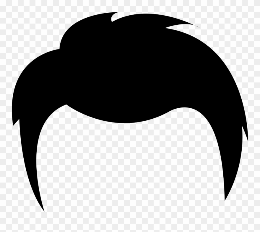 Stylized Hair, Girl, Hair, Hair Icon Icon.
