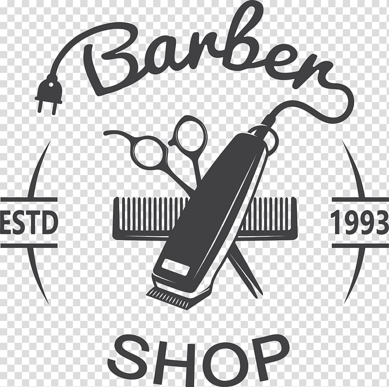 Hair clipper Comb Hairstyle Barber Hairdresser, Barber shop.
