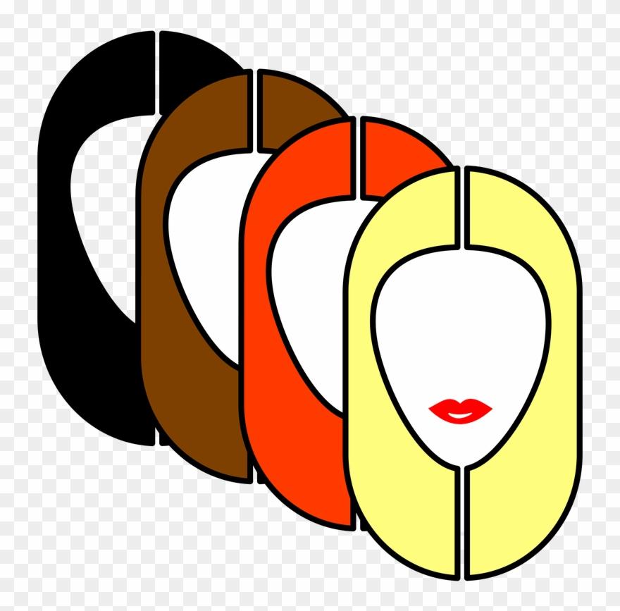 Hair Colour Clipart (#2008097).