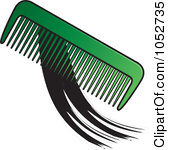 Hair comb clipart - Clipground