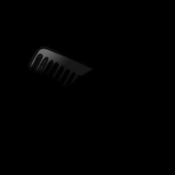 Hair Comb Clipart.