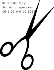 Hair Scissors Clip Art.