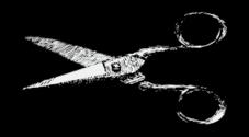 Hair Scissors Vector.