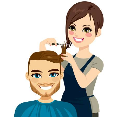 12,769 Hairdressing Stock Illustrations, Cliparts And Royalty Free.