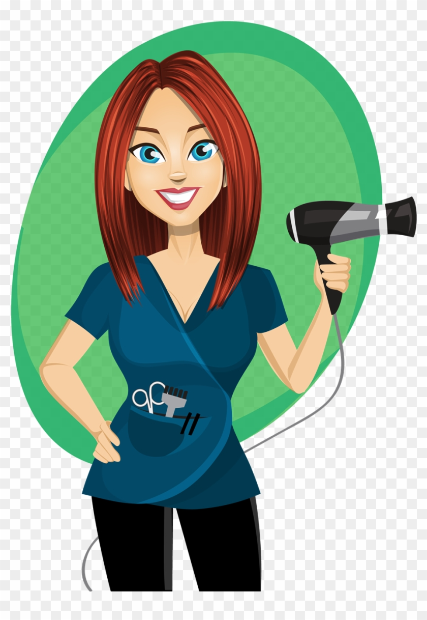 Hairdresser Clipart Png, Transparent Png.