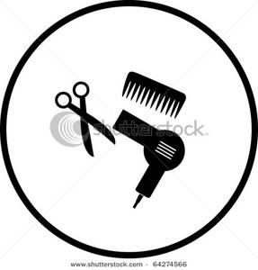 Blow Dryer Clipart Image, Hair Dryer Free Clipart.
