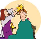 Hair Dye Clipart.