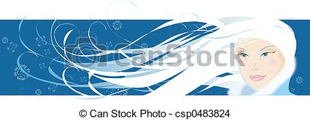Wind blow hair Clipart and Stock Illustrations. 171 Wind blow hair.
