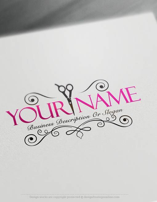 Exclusive Logo Design: Hair salon Logo Images + FREE.