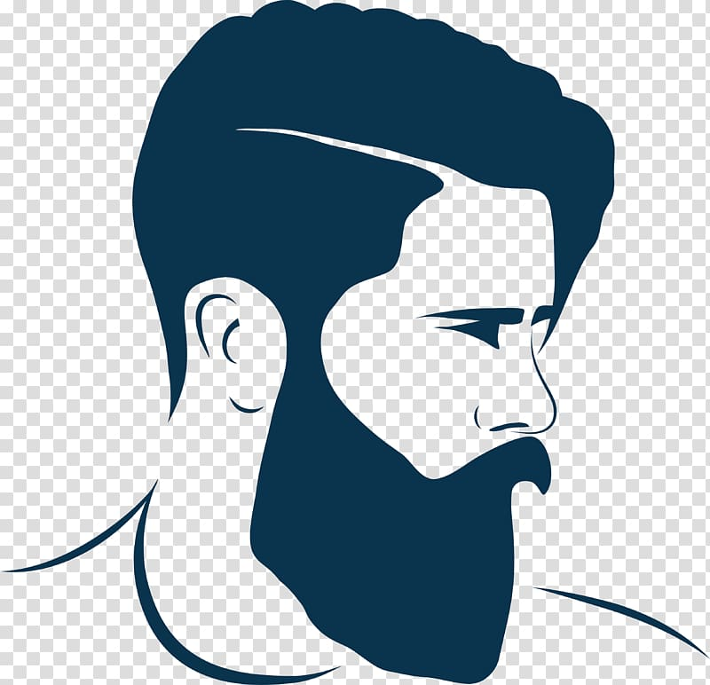 Men\'s black beard , Hairstyle Beard Barber Fashion, beard.