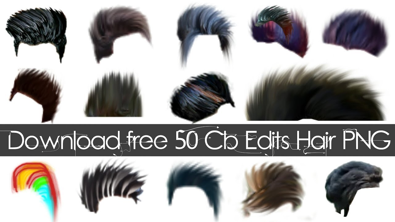 Download 50 Cb Edits Hair PNG for free.