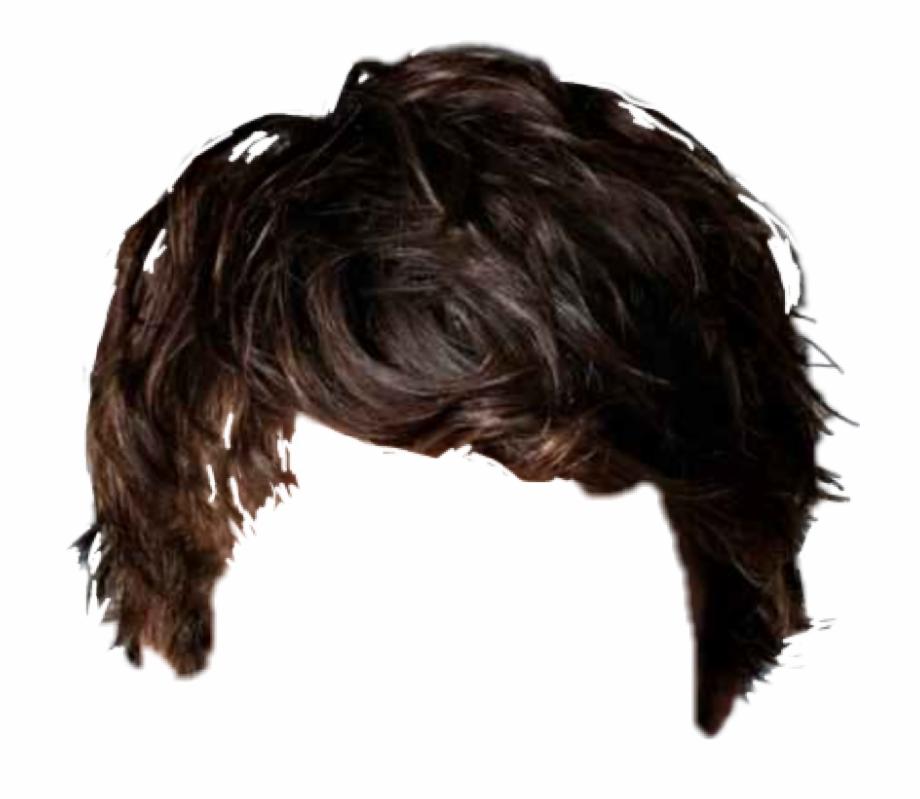 Hair Hairstyle Haircut Shorthair Png Picsart Hair Stickers.