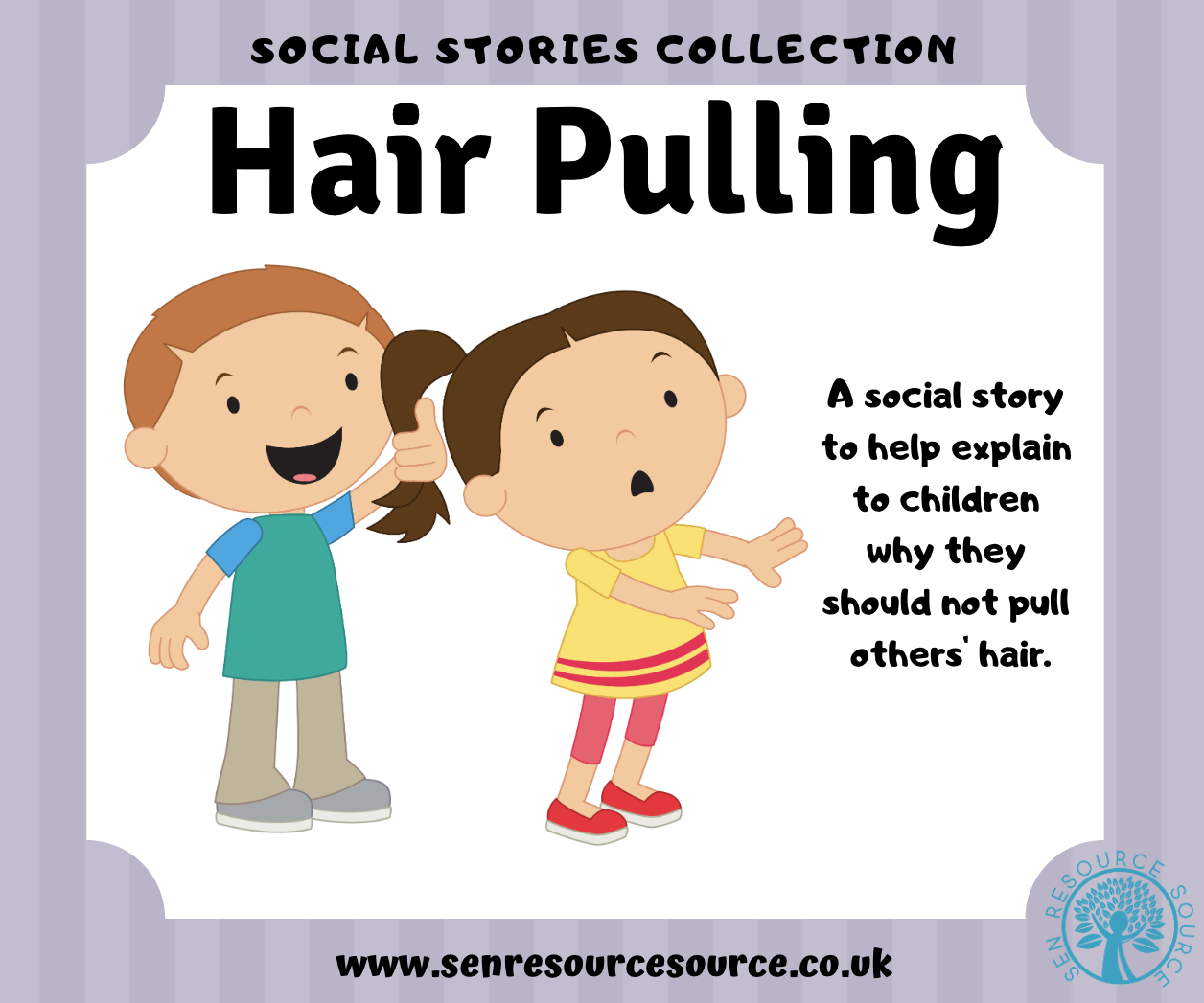 Hair Pulling Social Story.