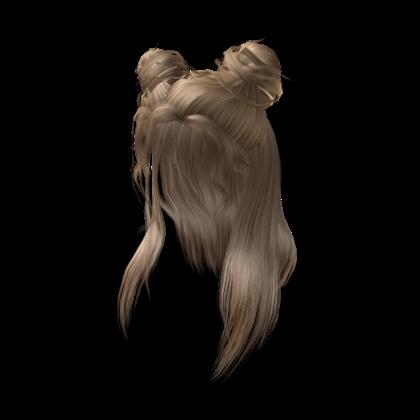 Cute girl hair.