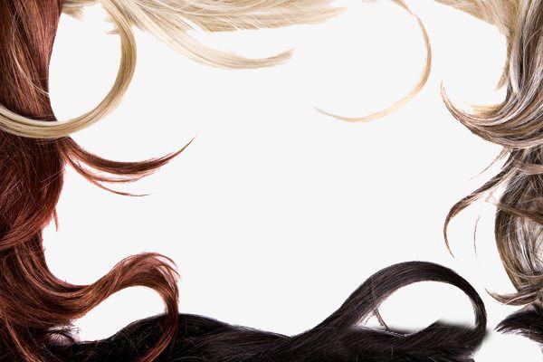 Hair Salons Border, Hairdressing, Hair, Frame PNG Transparent Image.