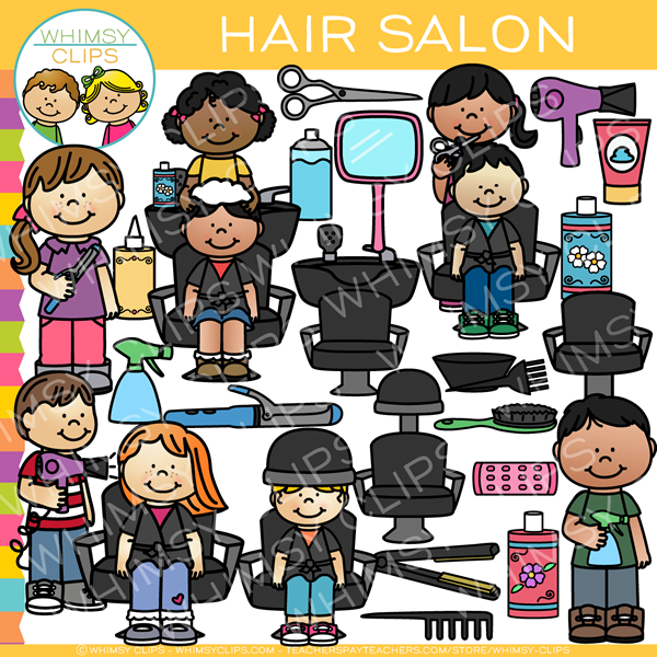 Hair Salon Clip Art.