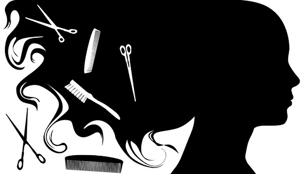 Hair Salon Clipart Black And White.