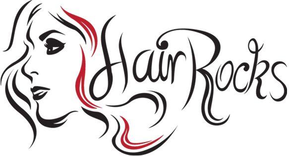 Retro Hair Salon Clipart.