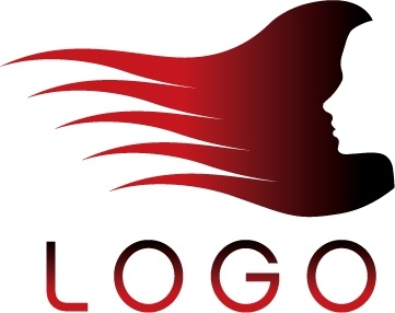 Hair salon logo template vector Free vector in Encapsulated.