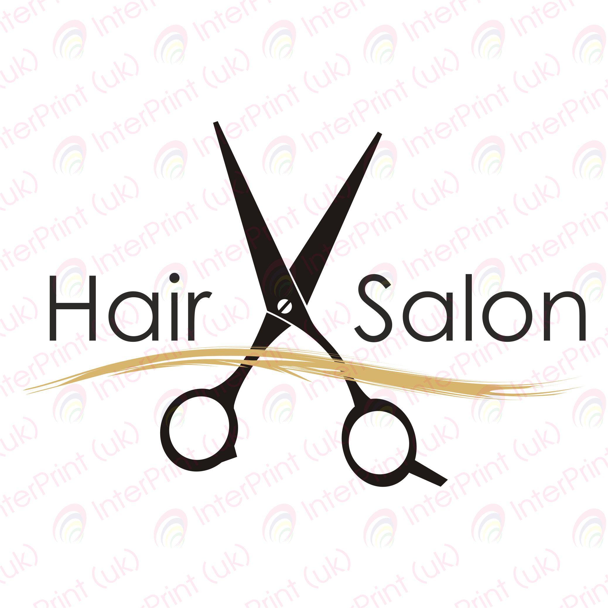 Hair Salon Logo SVG PNG logo for hairdressers modern stylish design.