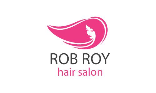 Free Hair Salon Logo Design.