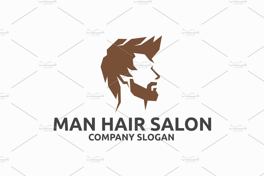 Man Hair Salon.