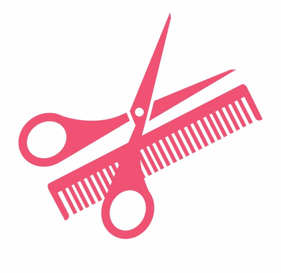 Comb Scissors Clip Art Hairdressing Transprent Png.