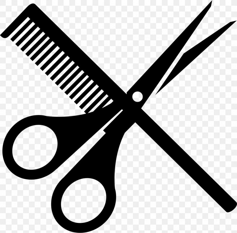 Comb Scissors Hairdresser Hair.