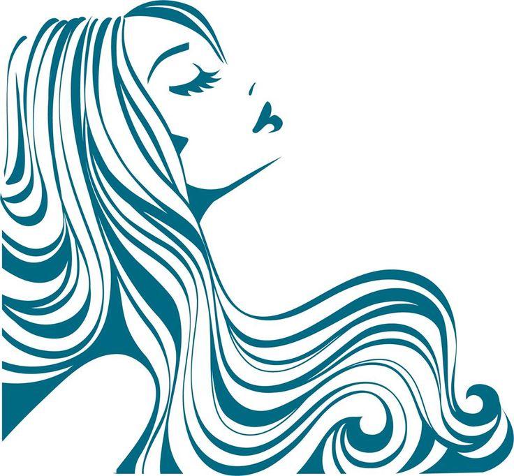 Hair Silhouette Free Vector at GetDrawings.com.