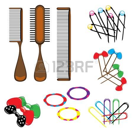 109 Hair Slide Stock Vector Illustration And Royalty Free Hair.