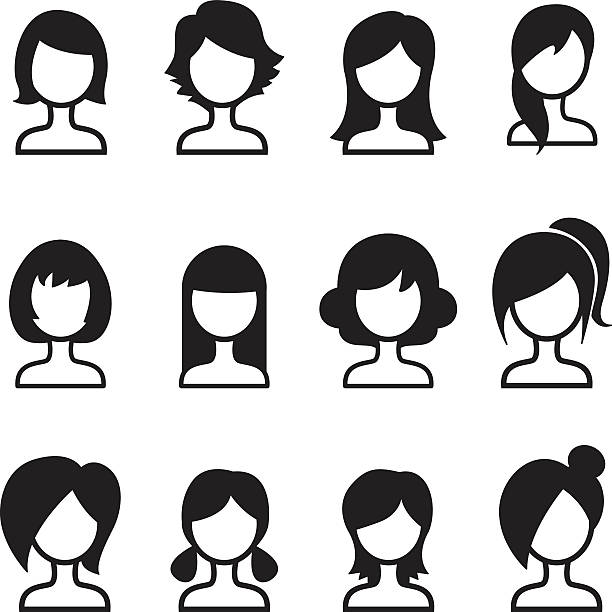 Hair style clipart 6 » Clipart Station.