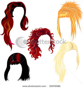 Hairstyle Clip Art Free.