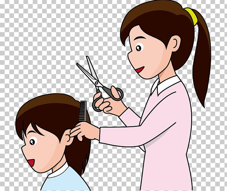 Hairstyle Beauty Parlour Cutting Hair PNG, Clipart.