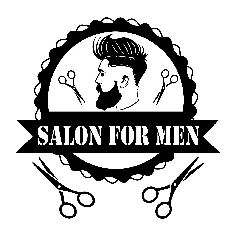 Haircut clipart mens parlour hair style, Haircut mens.