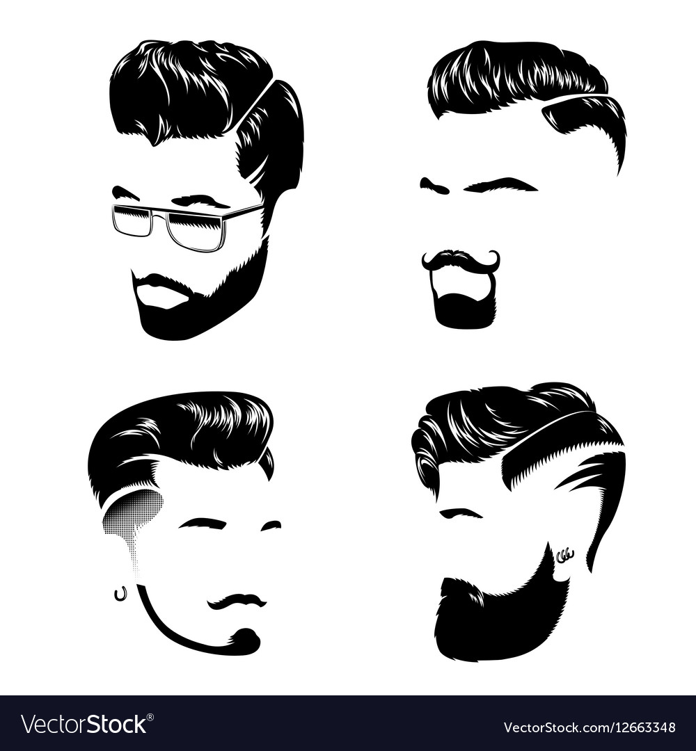 Man Hair Style Collection.