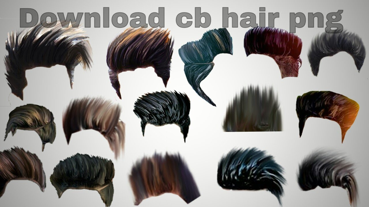 How to download CB editz hair png.