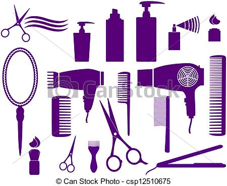 Hair styling clipart - Clipground