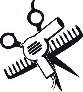 Hair Salon Clipart Beautiful 72 best logos images on Pinterest.