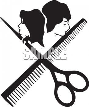 128 Hair Stylist free clipart.