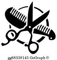 Hair Stylist Clip Art.