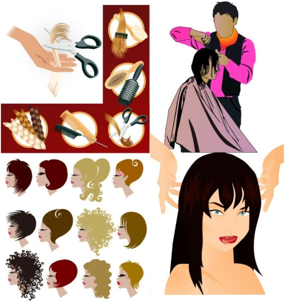 Hair swirls free vector download (3,283 Free vector) for.